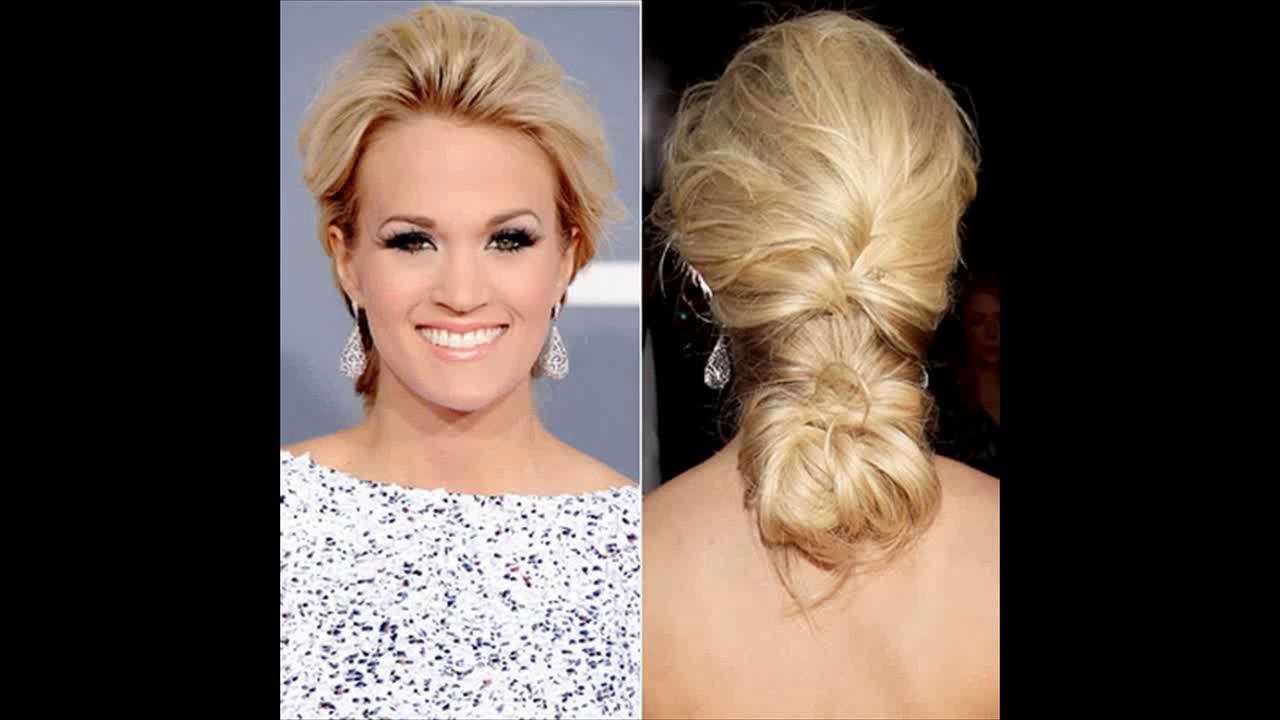Carrie underwood wedding hair - YouTube