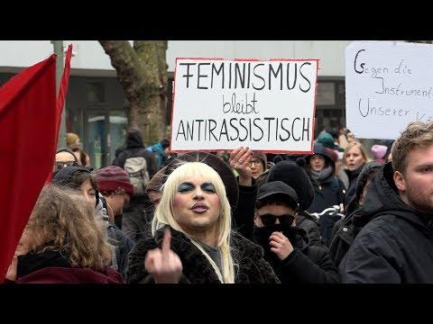 Rechte Demo in Berlin verhindert! AfD-Spektrum macht Frauenrechte zum Propagandthema