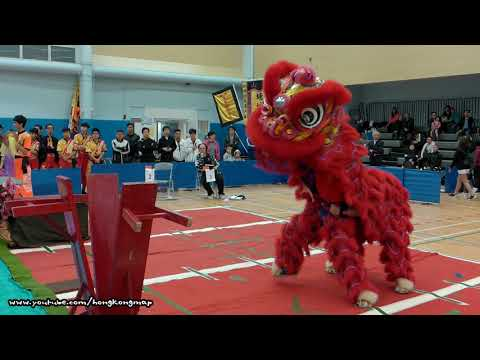Hong Kong Open Championship - Chinese Lion Dance (2017 - Part 1)