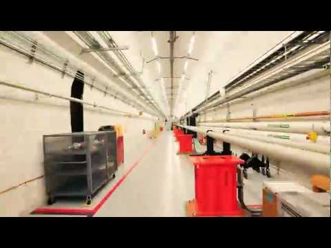 Linear Coherent Light Source (LCLS) X-Ray Laser Facility Fly-Through
