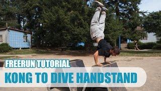 Kong to Dive Handstand Tutorial CZ   Taras 'Tary' Povoroznyk