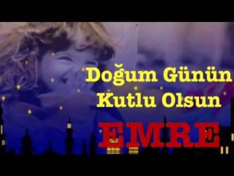 EMRE  İyi ki Doğdun :)  3. VERSİYON Komik Doğum günü Mesajı *happy birthday Emre* Made in Turkey :)