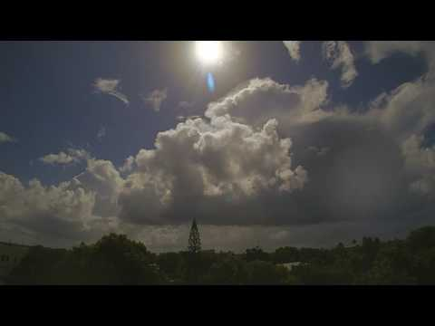 Morning Showers Passing Over Key West - 7/17/16