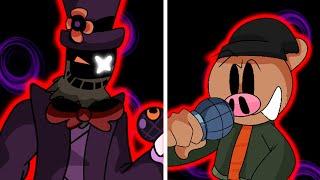 ROBLOX PIGGY 2 INSOLENCE BOSS VS PONY - Friday Night Funkin Piggy Mod
