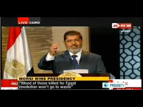 egyptian president elect mohammed morsi address