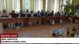 X sesja Rady Miejskiej w Łasku cz.3