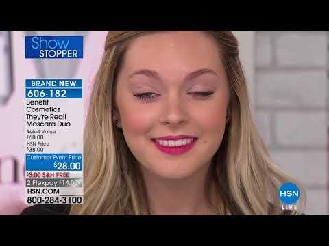 HSN   Benefit Cosmetics 04.02.2018 - 11 PM