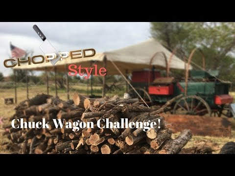 Cast Iron Cooking Challenge At The Chuck Wagon