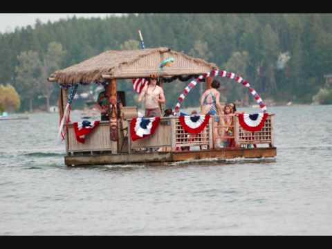 & Boat Parade - 4th of July on Diamond Lake u002708 - YouTube
