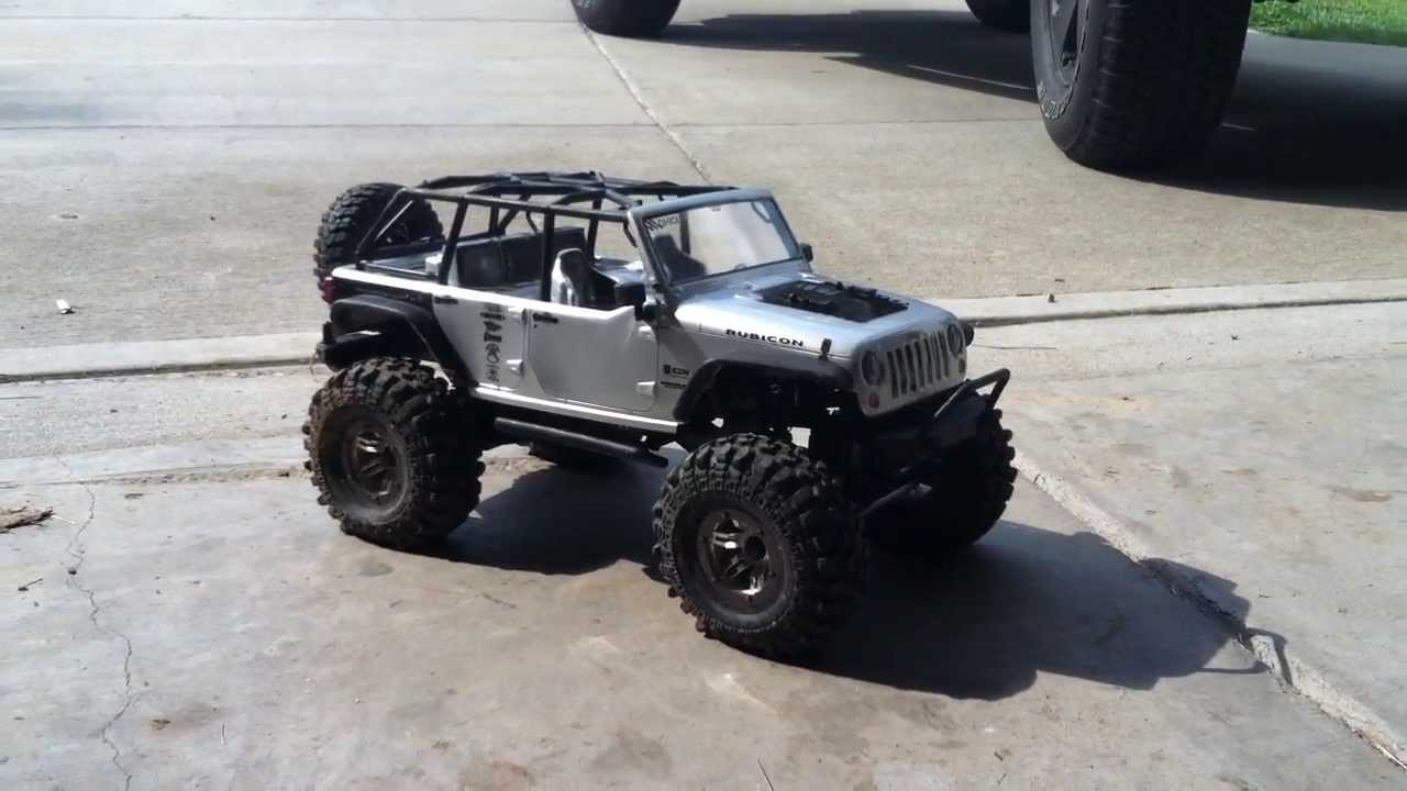home built lift kit for rc jeep axial scx10 youtube