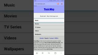 Toxicwap: How to Download Music, Movies and TV Series on Toxicwap.com