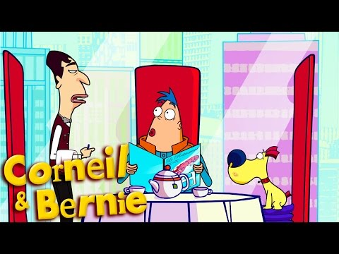 Watch my chops | Corneil & Bernie - A crazy day S02E39 - Cartoon HD