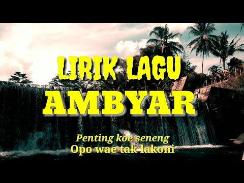Download   lagu AMBYAR - Xaluna  Penting Koe Seneng  Gratis, download lagu terbaru