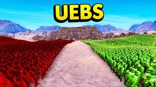 BURNED ZOMBIES vs ALL OTHER ZOMBIES IN UEBS (Ultimate Epic Battle Simulator / UEBS Funny Gameplay)