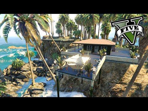 GTA V Editor De Mapas - La Isla Paraiso !! WOW  - ElChurches