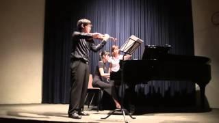 Violin Sonata No.1 in G major : III Allegro molto moderato : J.Brahms