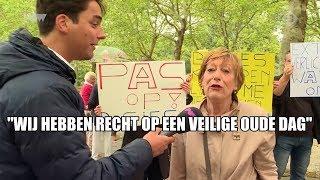 Inwoners Buitenveldert protesteren na mishandeling door statushouder