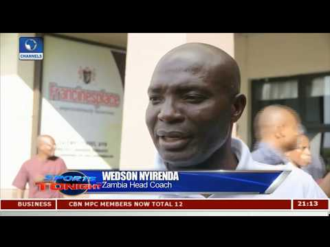 We Are Ready For Super Eagles - Zambia Head Coach |Sports Tonight|