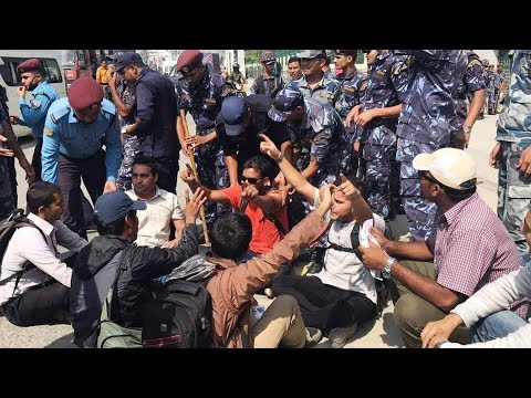 11 arrested while protesting Medical Education Act