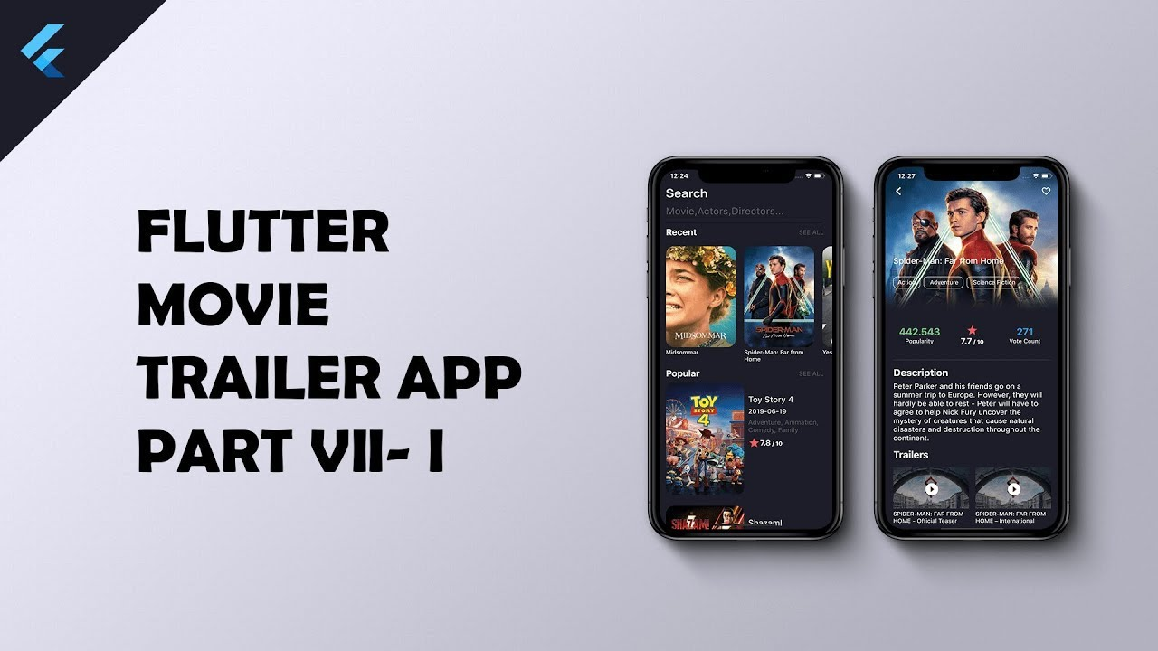 Flutter Movie App Sqlite Implementation Part 7 1 Youtube