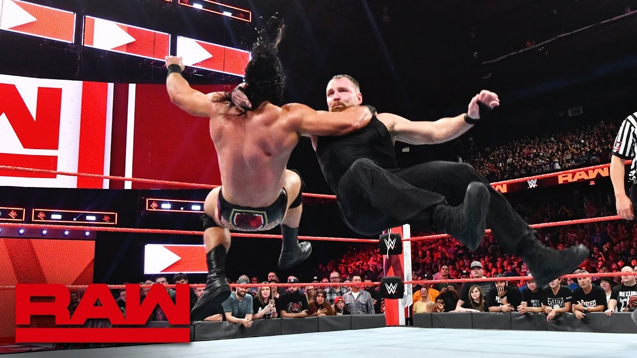 The Shield vs. Braun Strowman, Dolph Ziggler & Drew McIntyre: Raw, Oct. 8, 2018