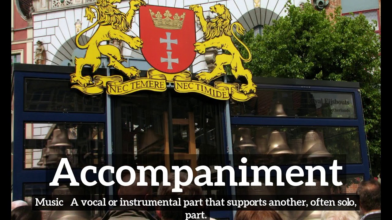 What Is Accompaniment How To Say Accompaniment In English How