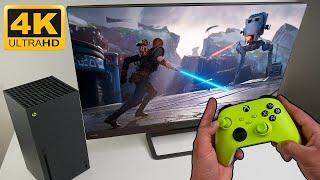 Star Wars Jedi: Fallen Order Next Gen Xbox Series X Gameplay - 4K UHD 60FPS