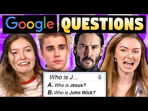 GOOGLE MOST ASKED QUESTIONS CHALLENGE (ft. Malinda Kathleen Reese)