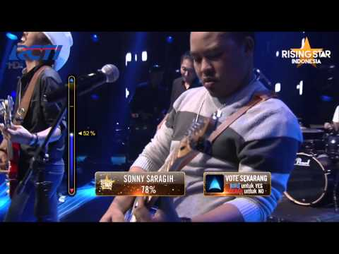 "Bluesmates ""Lagu Cinta"" Dewa 19 - Rising Star Indonesia Great 8 Eps 20"