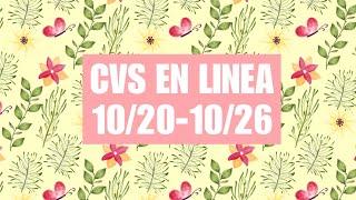 CVS COMPRA EN LINEA 10/20-10/26|Buenisimas Ofertas|Randee Saves