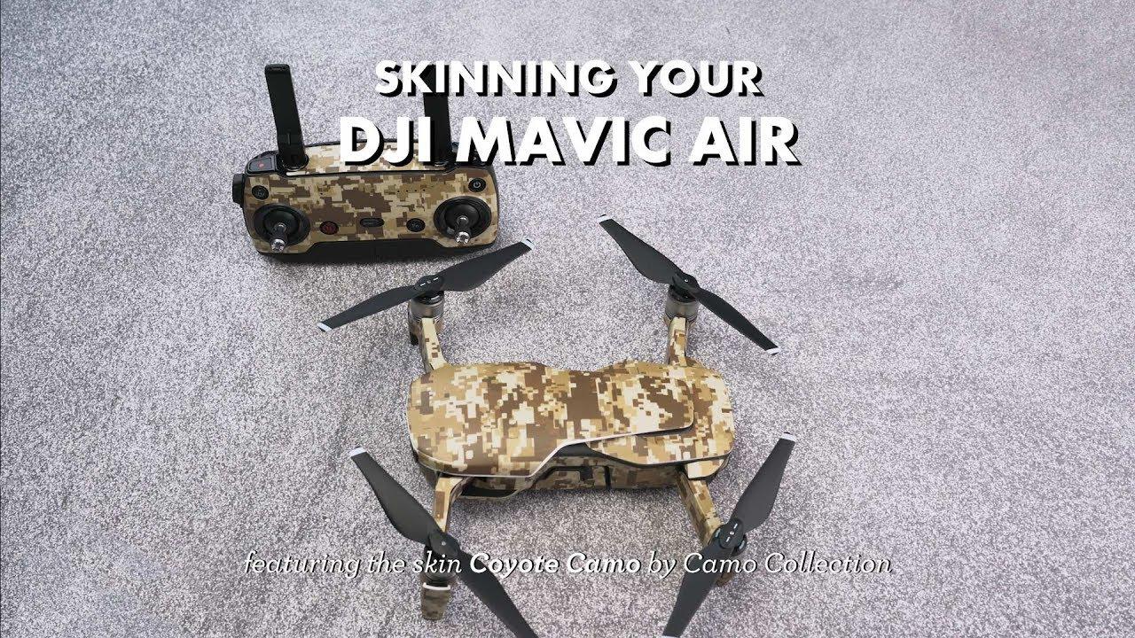 Dji Mavic Air Skin Installation