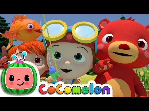 12345 Once I Caught A Fish A!  Cocomelon ABCkidTV Nursery Rhymes & Kids Songs