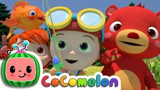 12345 Once I Caught A Fish Alive! | CoComelon Nursery Rhymes & Kids Songs