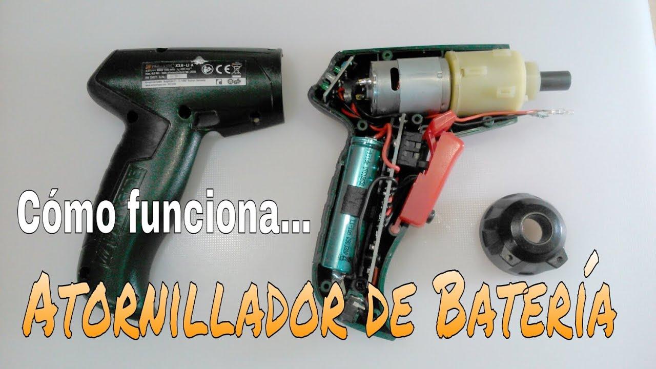 C mo funciona un taladro atornillador de bater a - Taladro atornillador electrico ...