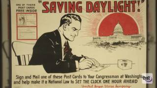 'War Time' Savings: The History of Daylight Saving Time