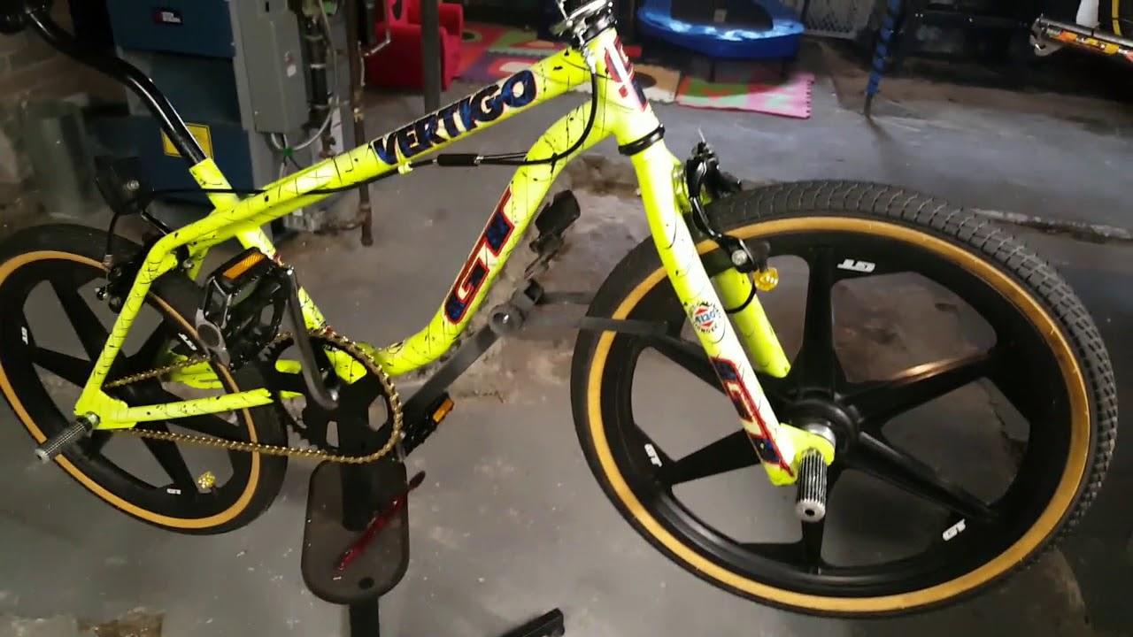 92 GT Vertigo Bike Build