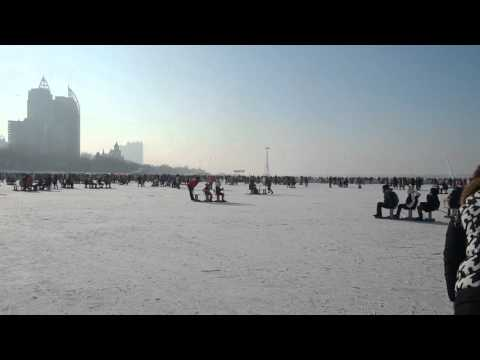 Winter in Harbin, Songhua river