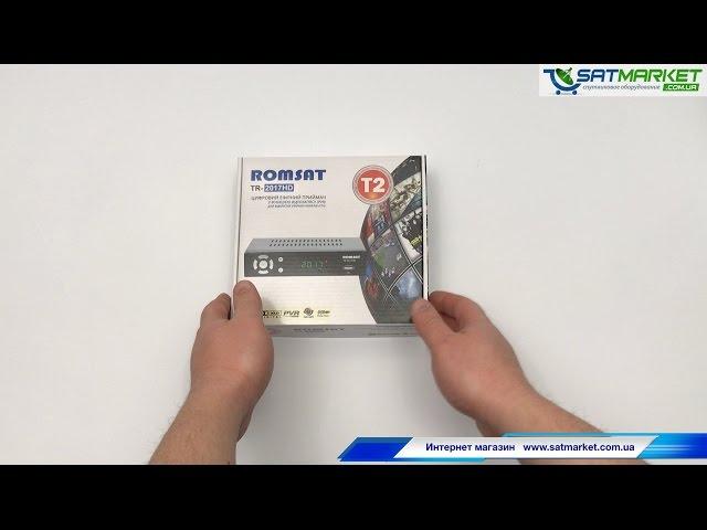 Видео обзор Romsat TR-2017 HD