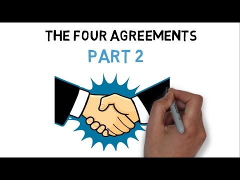 THE FOUR AGREEMENTS PART 2 (HINDI) – ANIMATED BOOK SUMMARY