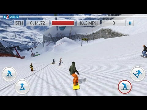 Fresh Tracks Snowboarding - Free game for iPhone iPad iOS/Android - 동영상