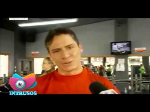 Combate Costa Rica: José Pablo en el gym (Intrusos)