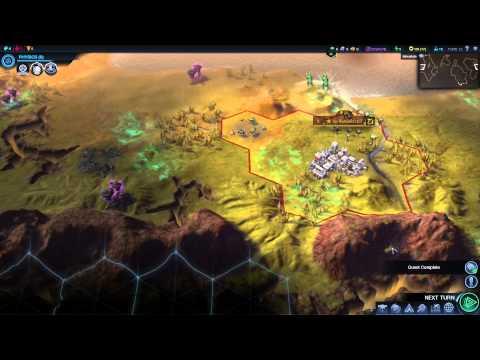 Civilization: Beyond Earth - První pohled