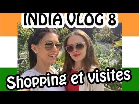 INDIA VLOG 8 - Shopping & Visites (Select city walk, Lodi Garden, India Gate...)