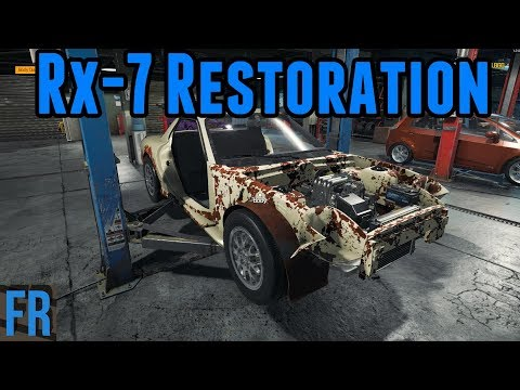 Car Mechanic Simulator 2018 - Mazda Rx-7 Restoration