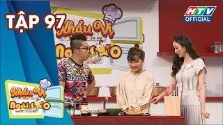 KHẨU VỊ NGÔI SAO | Người đẹp Hà Thu khiến Hoàng Rapper choáng ngợp |KVNS #97 FULL |19/5/2019