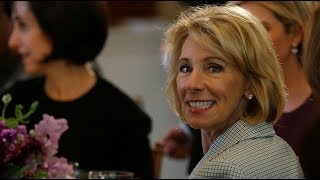DeVos grilled on Capitol Hill about education budget