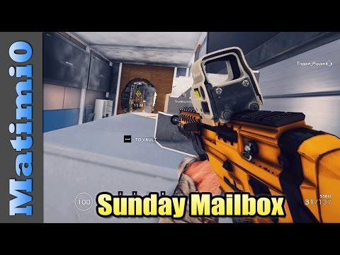 Explosive Drone Operator - Sunday Mailbox - Rainbow Six Siege