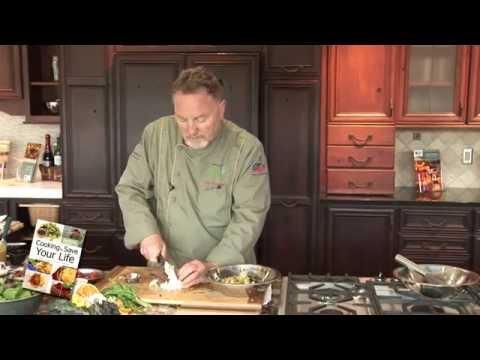 America's Healthy Chef - Fresh Green Herb Salad