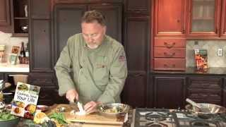 Fresh Green Herb Salad from Chef Kurt's Cooking to Save Your Life c...