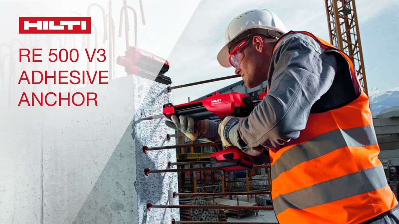 INTRODUCING the Hilti HIT-RE 500 V3 adhesive anchoring